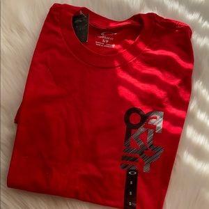 Oakley BNWT Red Small tshirt
